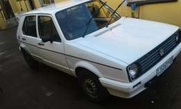Urgent Sale - Volkswagen City Golf 1.3 engine 456 000km