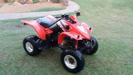 Kymco 250cc kxr automatic with reverse in 100% running condition