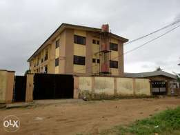 Building of six unit of three bedroom at Ikotun
