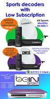 Bein sport, Canal Sport and Kwese Sport Decoders