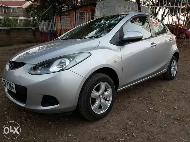 Mazda Demio Silver Woodly - image 2