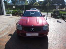 2001 Mercedes Benz SLK 320 Automatic Convertiable