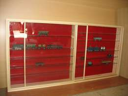"""Character and Model """"Display Cabinet, Beautiful Custom made Quality !"""