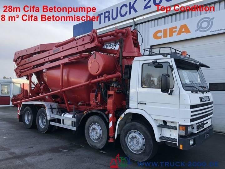 Scania 113G360 28m CiFa Pumpe 8m³ Mischer Top Condition - 1995