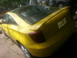 Perfectly used toyota celica 2003 buy n drive tincan cleared