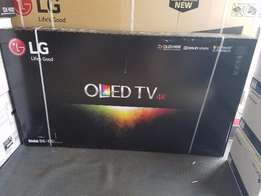 LG OLED65B6P Flat 65-Inch 4K Ultra HD Smart OLED TV (2016 Model)