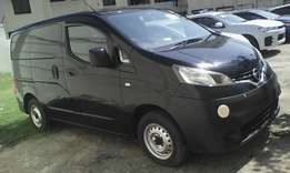 Nissan NV200 black color