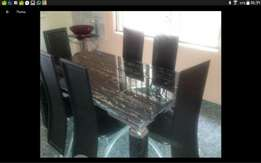 Marble dining table for 6setter 998 leg