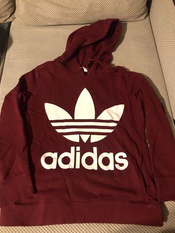 Bluza Adidas trefoil hoodie CE2409 Kraków Bieńczyce • OLX.pl
