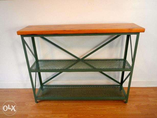 [ Industrial steel - Console unit ]