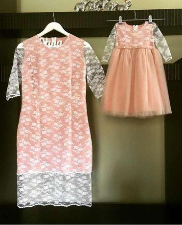 Плаття мама дочка  950 грн. - Жіночий одяг Вінниця на Olx 0a4e491fc5e72