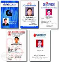 plastic id cards production