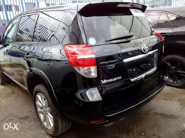 Toyota vanguard black Color New plate number fresh import exquisite bl Mombasa Island - image 1