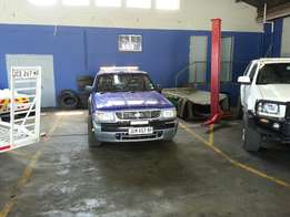 Ford Courier Tow truck