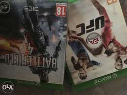 UFC and Battlefield 4 Xbox One