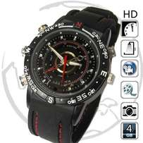 4GB Waterproof Rechargeable Spy Watch DVR Camera at R550 each