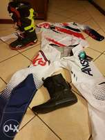 Riding boots and kit for sale