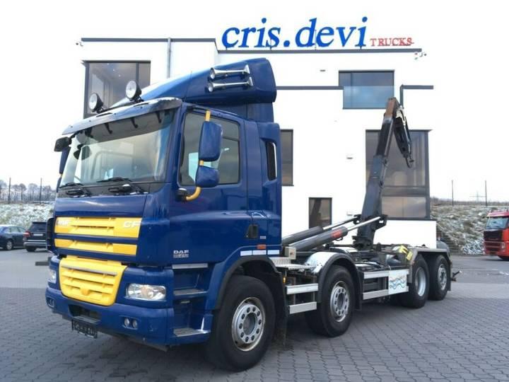 DAF CF 85.410 8x2 Hakengerät | Euro 5 - 2011