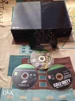 Brand new Xbox 1 with 1 control and 3 games