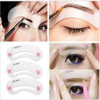 Eye Brow Stencil Kit - 3-piece Set