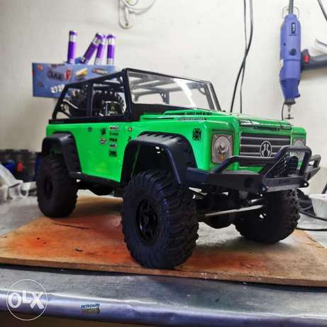 Rc crawler 1 /10 axial scx10