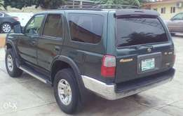 First body Toyota 4number 2002 with AC perfect condition