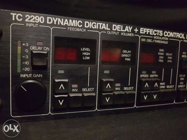 TC Electronics - TC 2290 Digital Delay and Effects Control Processor