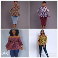 Customized African ladies outfits