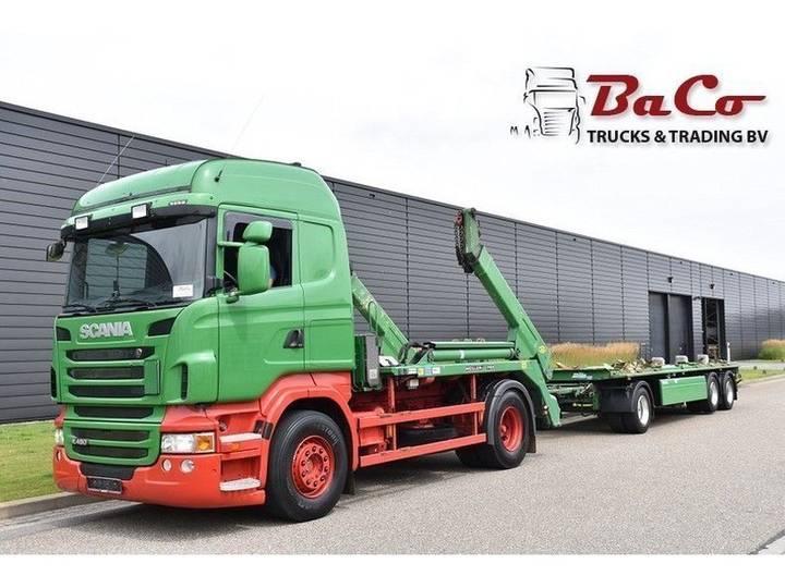 Scania R 480 HL - SKIPLOADER - RETARDER - EURO 5 - ONLY 407 TKM + - 1900