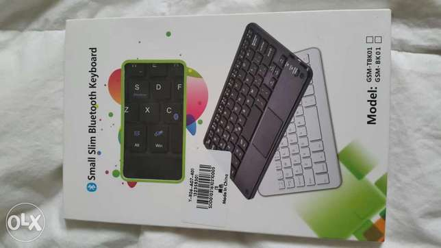 Multifunctional Thin Wireless Bluetooth 3.0 Keyboard With Touch pad.. City Centre - image 1