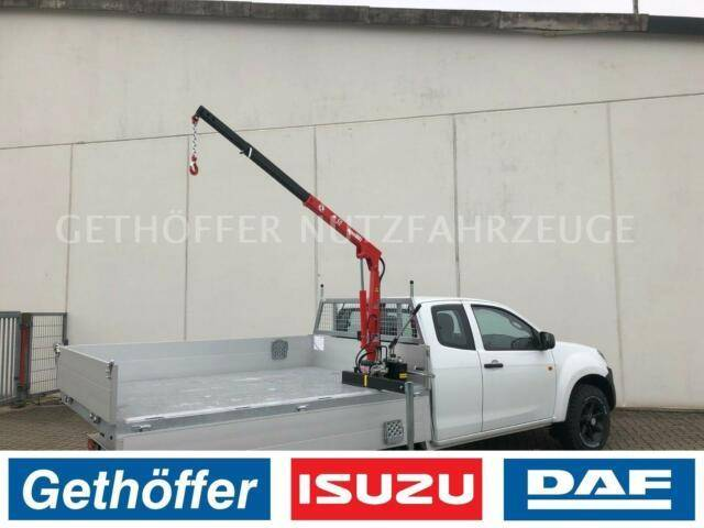 Isuzu D Max Space Cab Big Max Kipper Kran