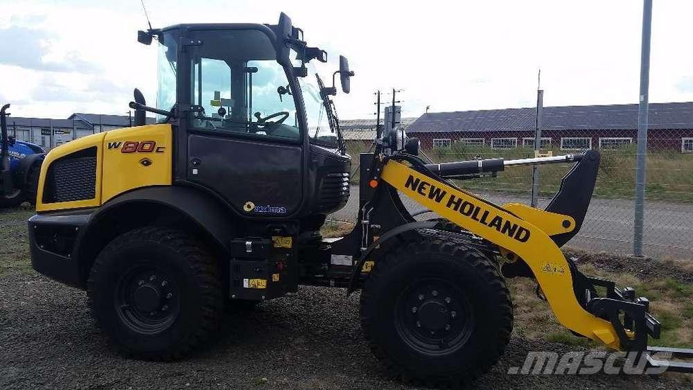 New Holland W80c Highspeed - Sverige - 2019
