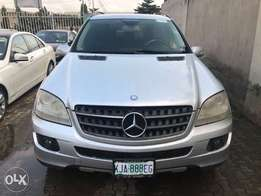 Super Clean Silver 2007 Mercedes Benz ML350 4MATIC