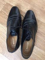083d7c886 Швейцарские чёрные туфли Bally