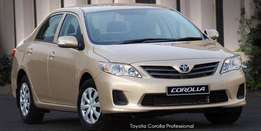 Toyota Corolla Professional wanted