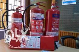 Fire safety equipment on offer