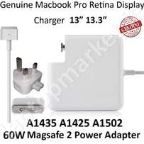 Apple 60w MagSafe 2 Power Charger MacBook Pro 13 A1435 AC Adapter