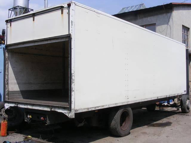 Ostatní prachotěsná nástavba MONTEX flatbed truck - 2003