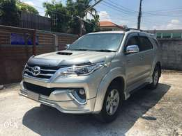 Toyota fortuner new shape brand new car