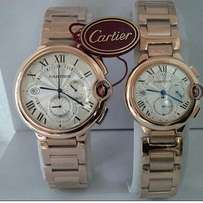 Cartier Twin Wristwatches