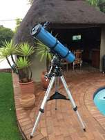 150mm reflector telescope on an EQ3 mount