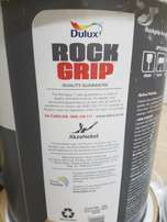 35 litres of dulux rock grip paint for sale-fully washable