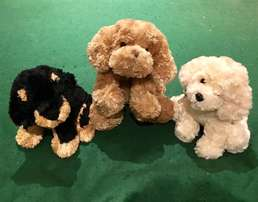 Cute (NEW) Puppy Trio Soft Toys