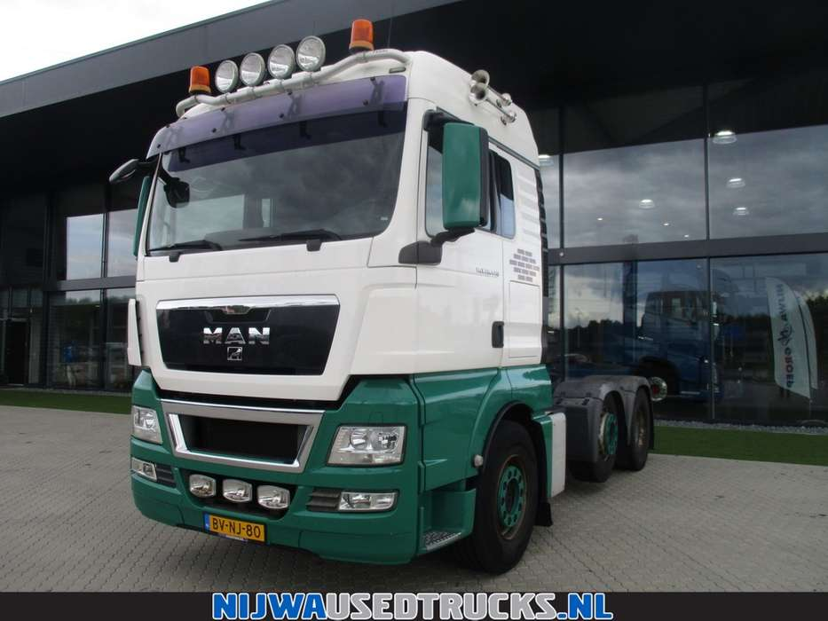 MAN TGX 26.440 Steered axle 6X2 - 2008