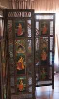 Indian Style Wooden Screen