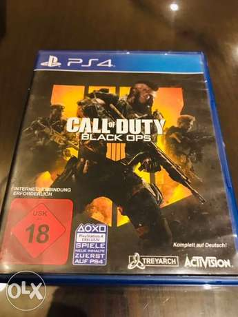 call of duty black ops 4 for sale or exchange