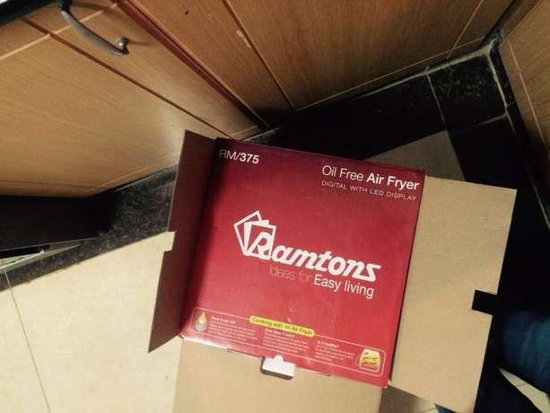 Brand New Ramtons Oil Free Air Fryer Kilimani - image 3