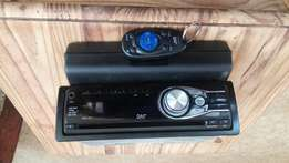 JVC radio,cd speler en remote