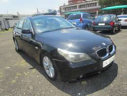 2005 BMW 525 Ipetrol ,black in colour ,4 doors ,140 000km ,for sale