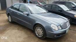 Superclean, neatly used Mercedes Benz, E-class.